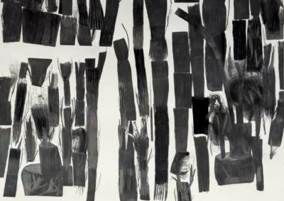 2017 Mixta/papel 120 x 140 cm