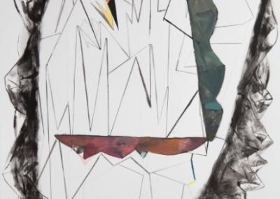El Padentro 2016 Mixta/papel 77 x 56 cm