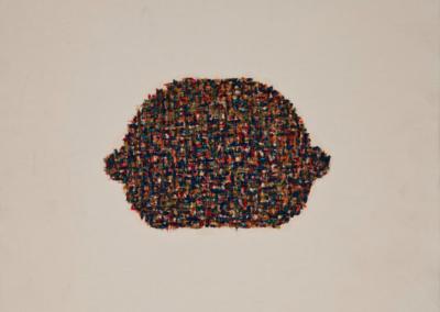 Hamburguesa 1994 Óleo sobre tela, 30 x 30 cm